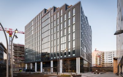 Com4 expands and relocates to the world's smartest office building – Karvesvingen 5